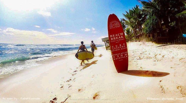Пляжи Шри Ланки - путеводитель