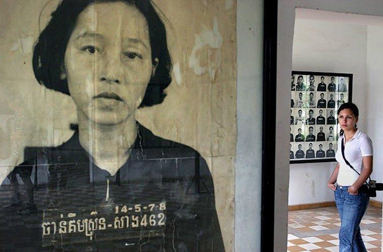Музей Геноцида в тюрьме Tuol Sleng, Пномпень. Камбоджа. Photo credit: Maciej Dakowicz, Flickr