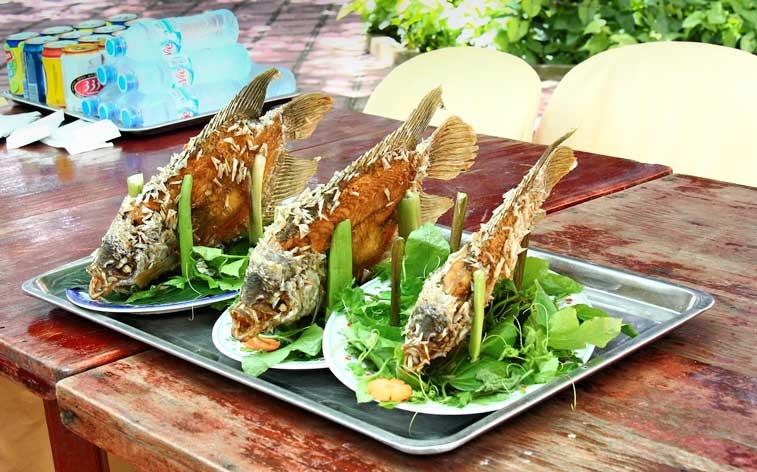 Каибе, еда во Вьетнаме