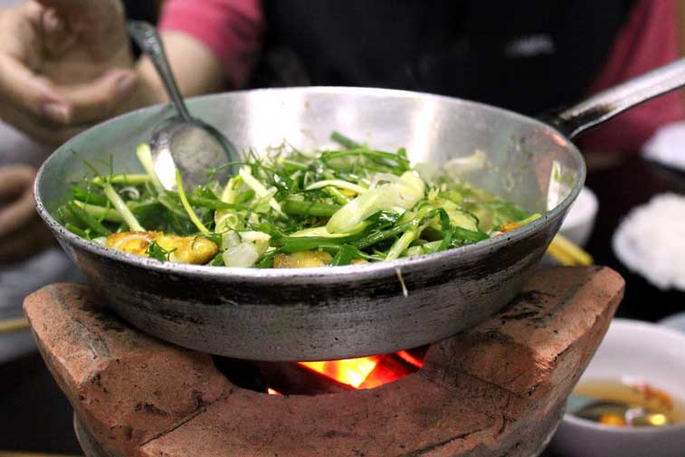 Еда в Ханое