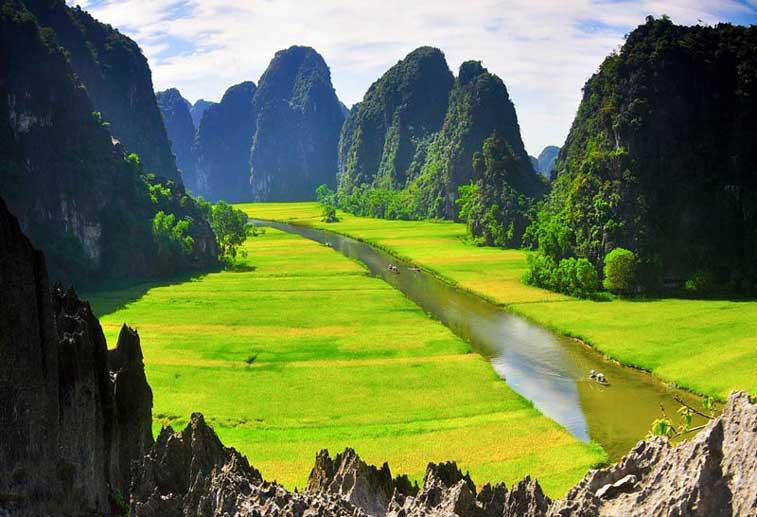 Ниньбинь, Северный Вьетнам