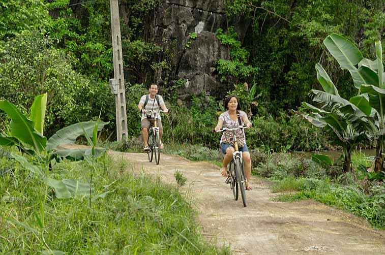Велопрогулка в окрестностях Ниньбинь
