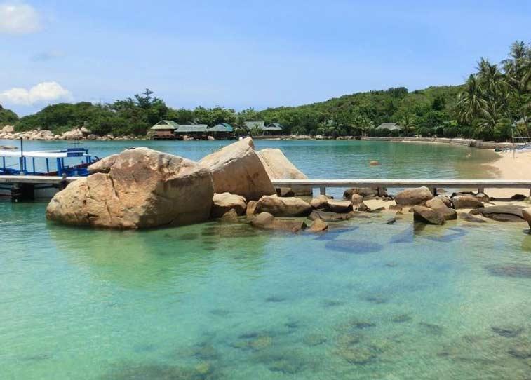 Бухта Ванпхонг и пляж Док Лет