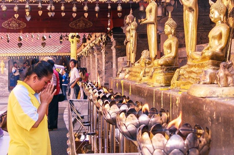 Храм Дой Сутеп, Север Таиланда