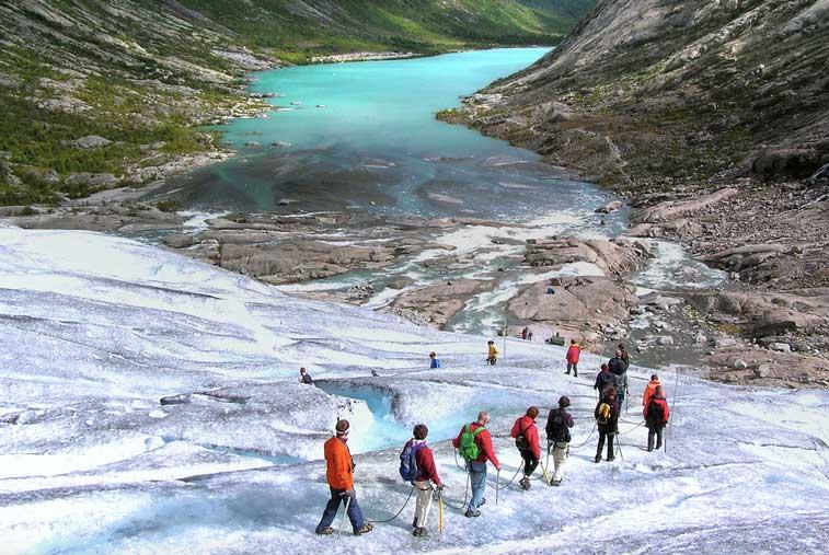 Ледник Юстедаль, Норвегия