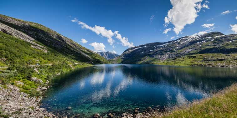 Санфьорд, фьорды западной Норвегии