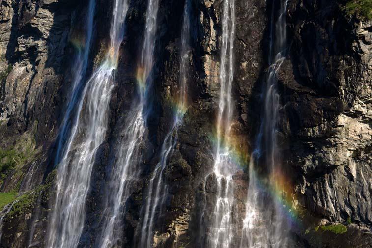 Водопады Гейрангер-фьорда - блоги о путешествиях