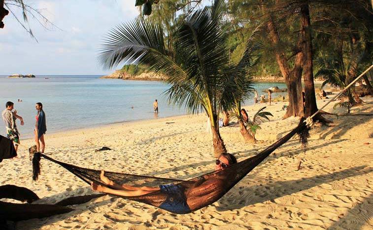 Пляж Haad Khom на Ко Панган