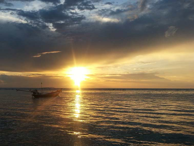 Пляж Хаад Салад на Ко Пангане