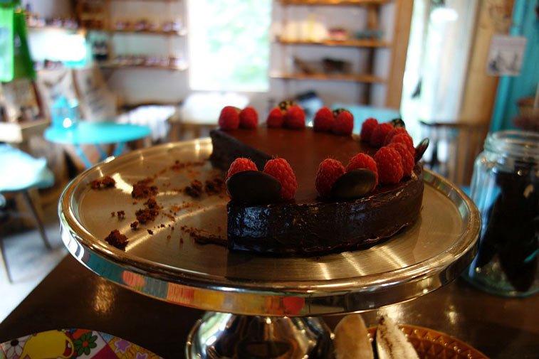 Шоколад с видом на Гейрангер фьорд