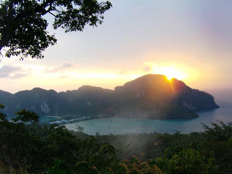 Вьюпойнт на Пхи-Пхи - Блоги о Таиланде