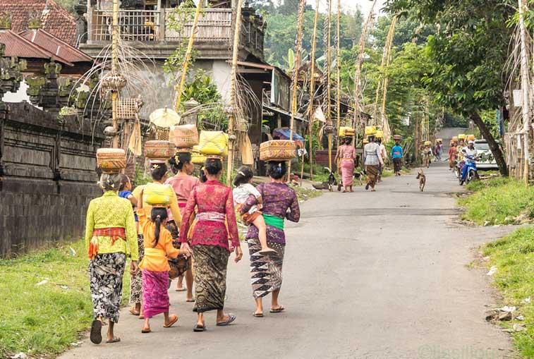Балийские женщины