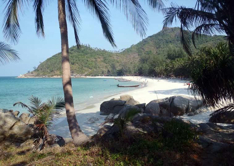 Маленький секрет острова Панган: Bottle Beach