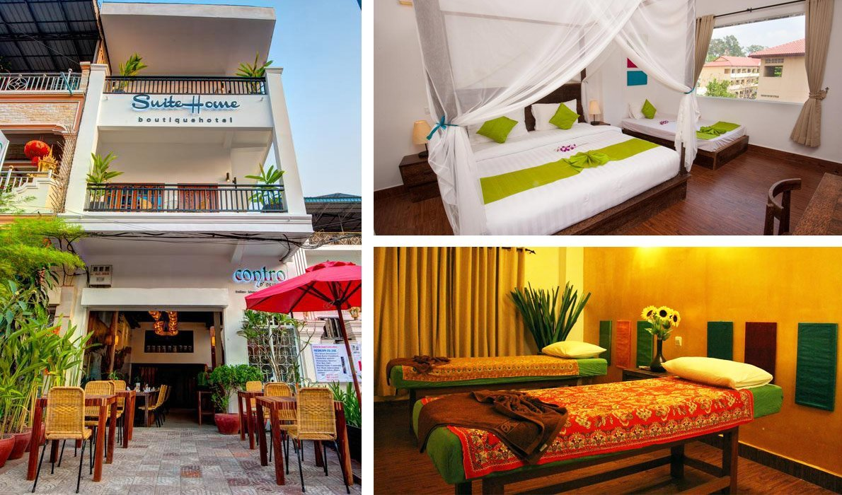 Пномпень - гостиницы