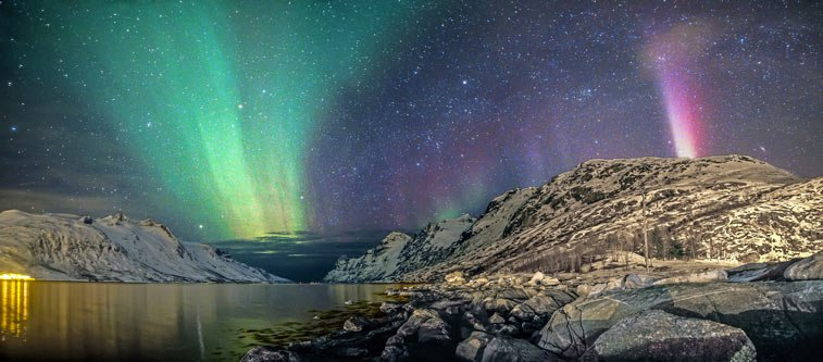Северное сияние в Норвегии - самостоятельные путешествия