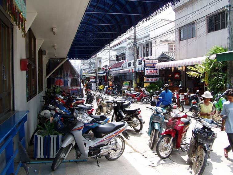 Городок Тонг Сала на Ко Пангане
