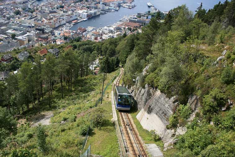 Берген - самостоятельное путешествие