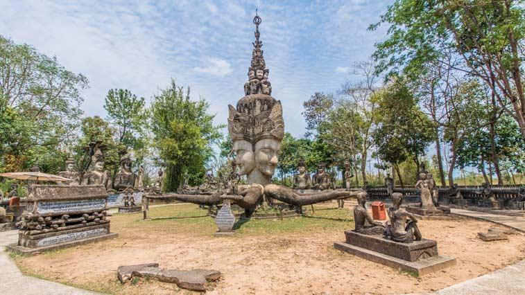 Скульптурный парк Сала Кеоку