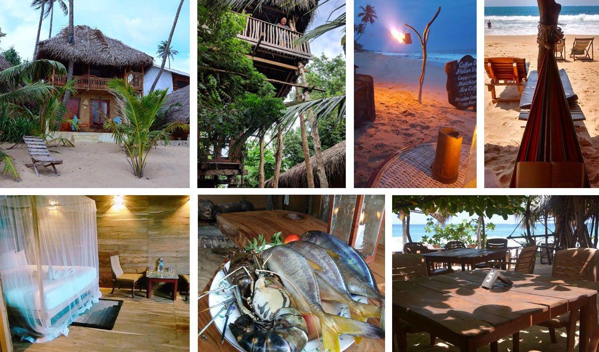 Пляжи Тангалле - гостиницы
