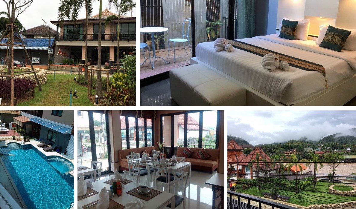 Тха Тон - гостиницы