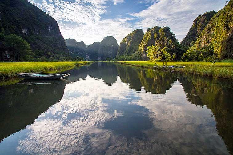 карстовые пейзажи Азии