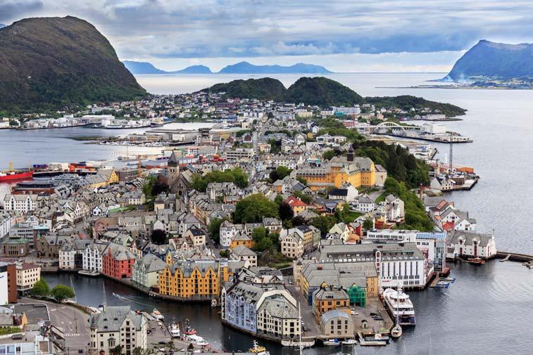 Олессунд, Норвегия