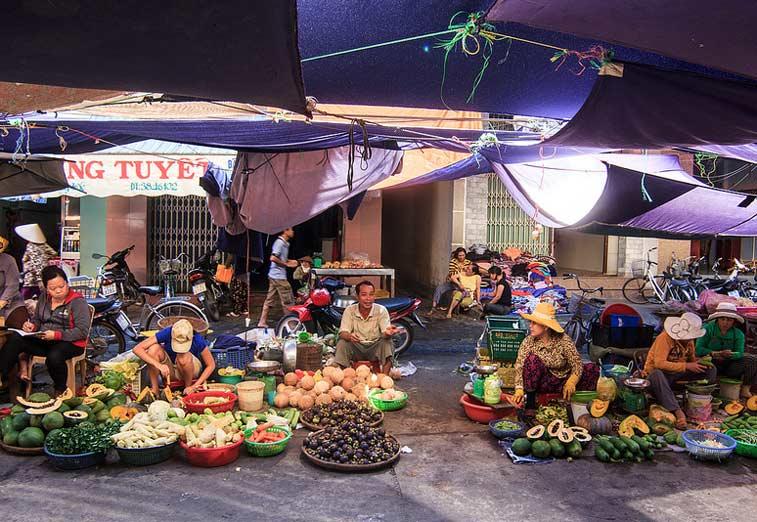 Рынок в Нячанг, Вьетнам. Photo credit: Vu Khanh Truong, Flickr