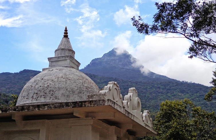 Вид на Адамову Вершину, Шри Ланка