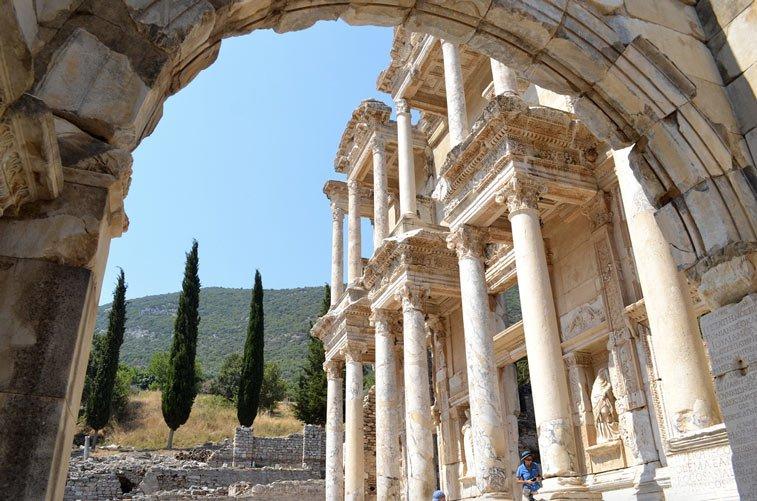 Эфес, Турция.