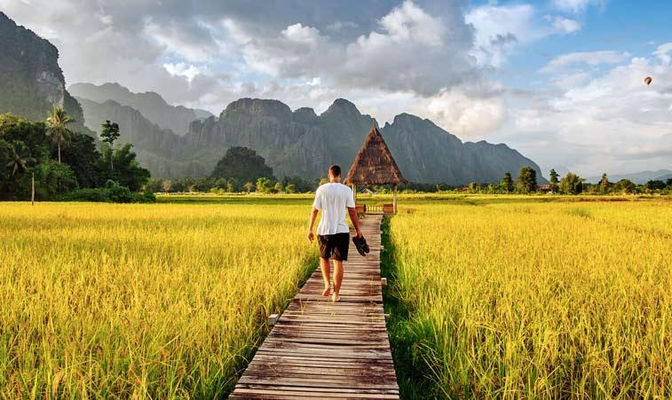 Ван Виенг, Лаос