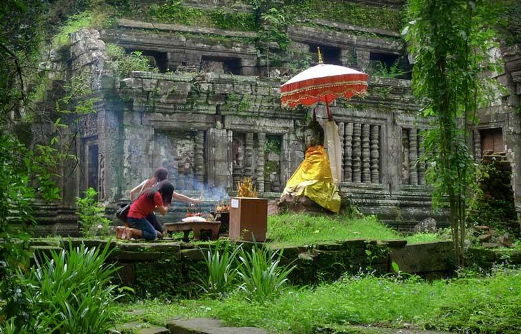 Чампасак, Юг Лаоса