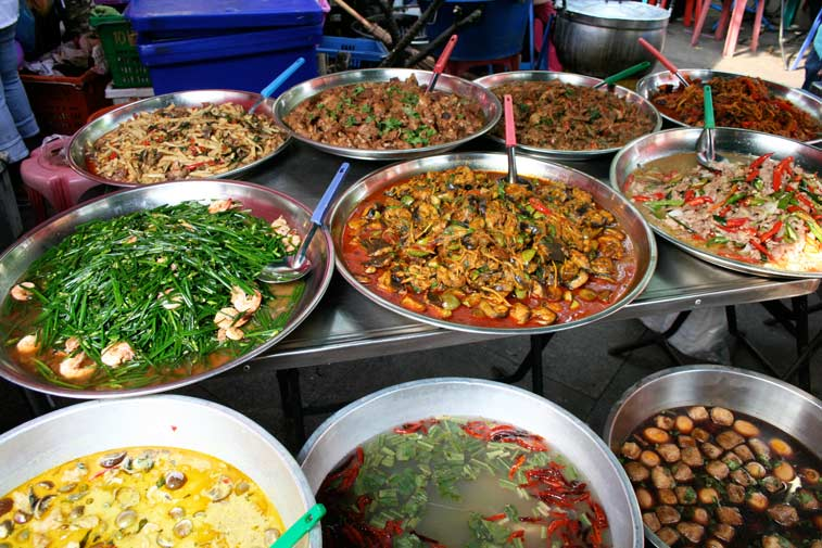 Еда в Таиланде