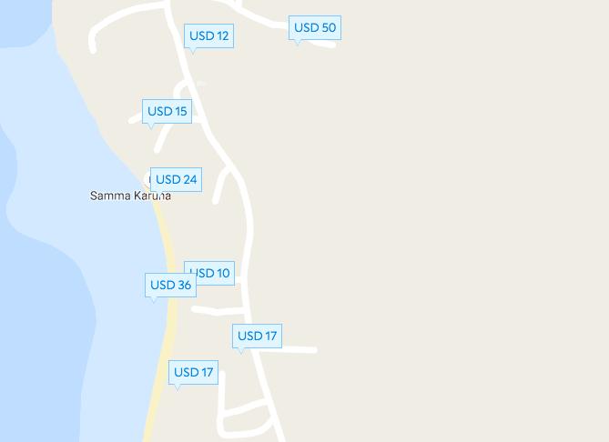 Гостиницы и бунгало на пляже Хаад Чао Пхао