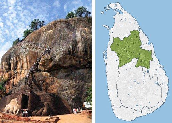 Золотой треугольник - регионы Шри Ланки