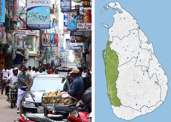 Регионы Шри Ланки и направления для путешествий