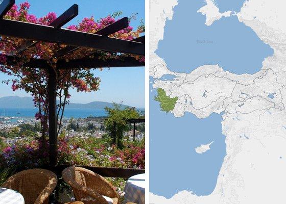 Эгейское побережье Турции - регионы Турции