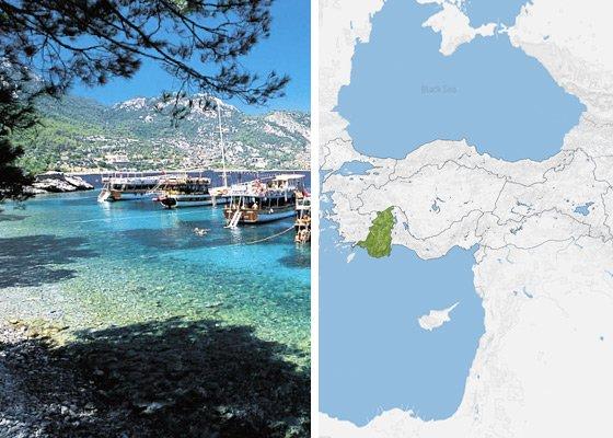 Бирюзовое побережье Турции