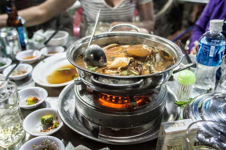 Еда в Сайгоне