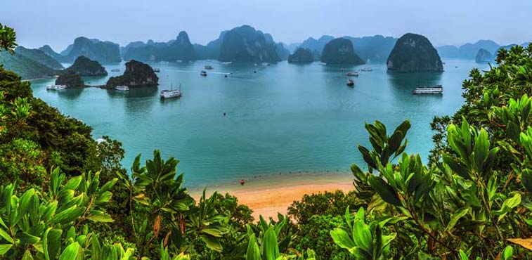Бухта Халонг, Север Вьетнама