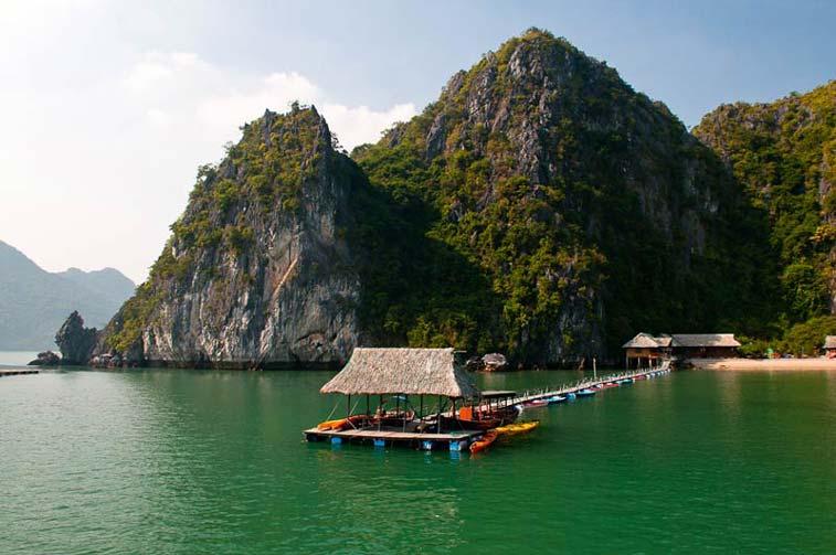 Остров Катба, Север Вьетнама