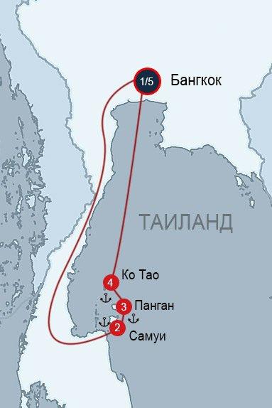 Путешествие по островам Таиланда - 5 готовых маршрутов