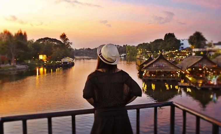Канчанабури, Центральный Таиланд