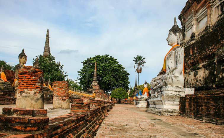 Аютайа, Центр Таиланда