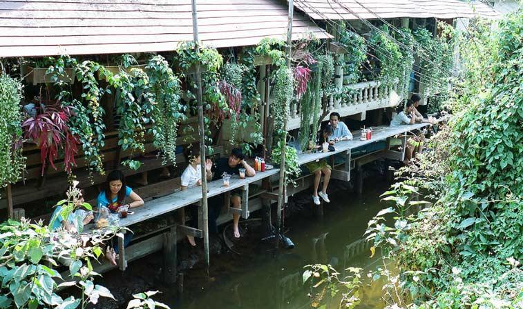 Остров Ко Крет, Центральный Таиланд