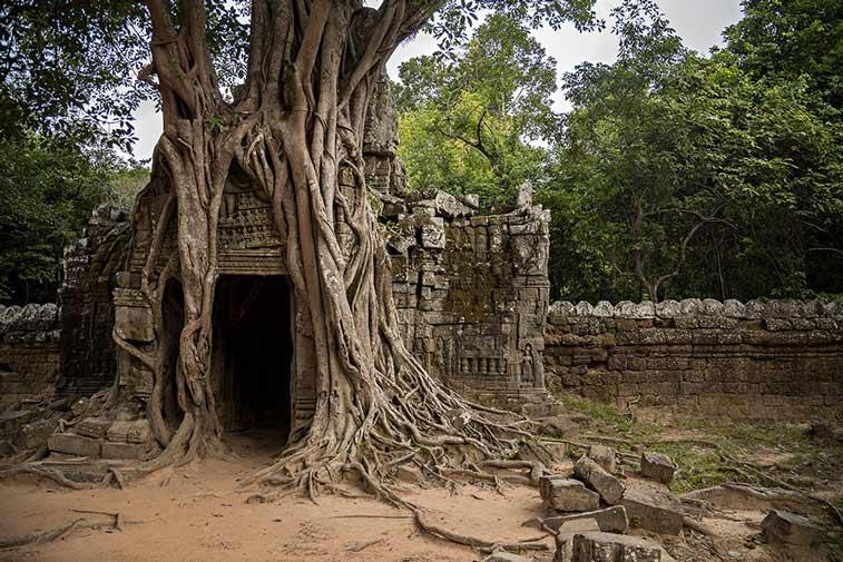 Храм Та Сом, Ангкор (Камбоджа). Photo credit: Nisa + Ulli Maier, Flickr