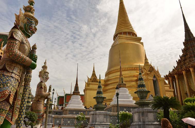 Королевский дворец в Бангкоке - самостоятельно