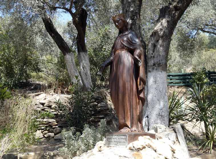 Дом Девы Марии - самостоятельно