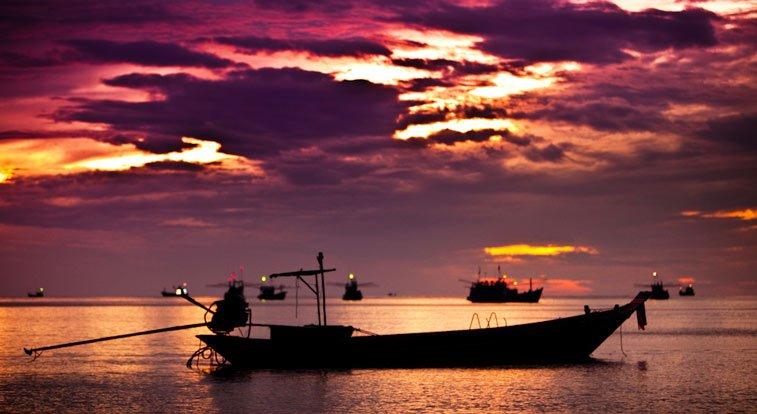 Вечерняя рыбалка на Ко Чанг - самостоятельно
