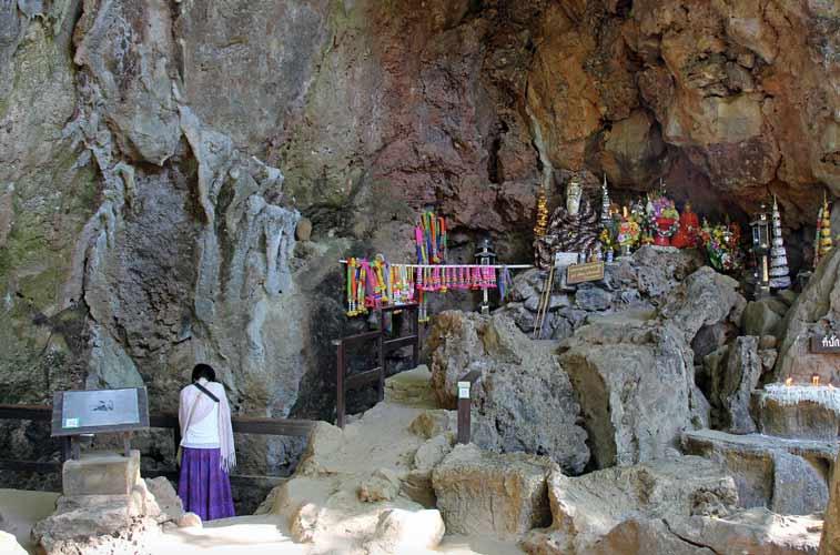 Пещера рыб в Национальном парке Там Пла - самостоятельно