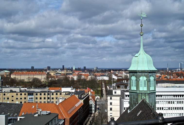 Копенгаген - крыши старого города